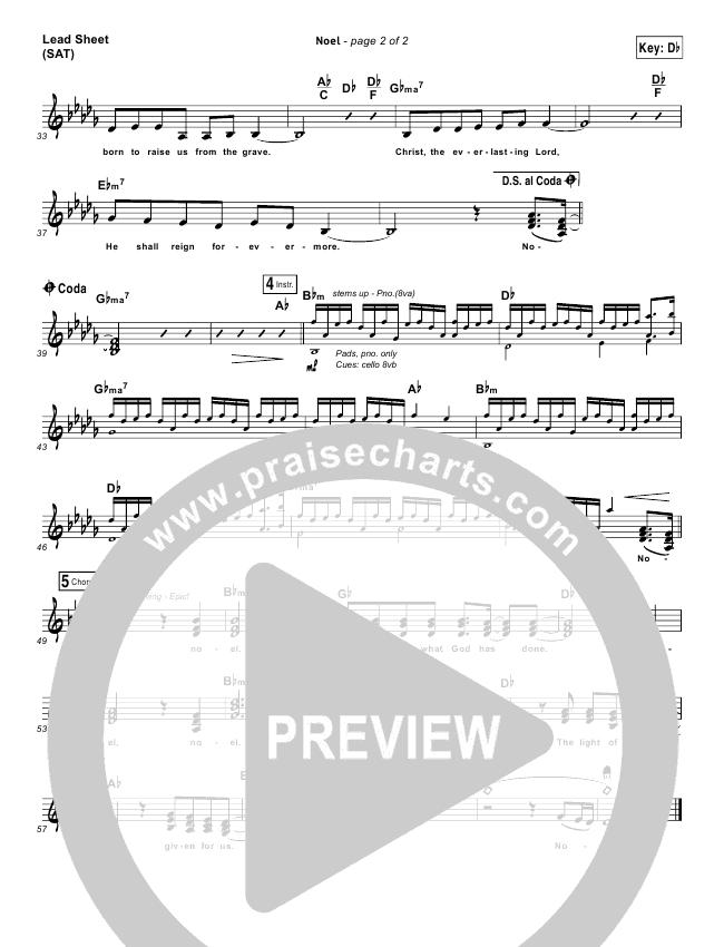 Noel Lead & Piano/Vocal (Lauren Daigle)