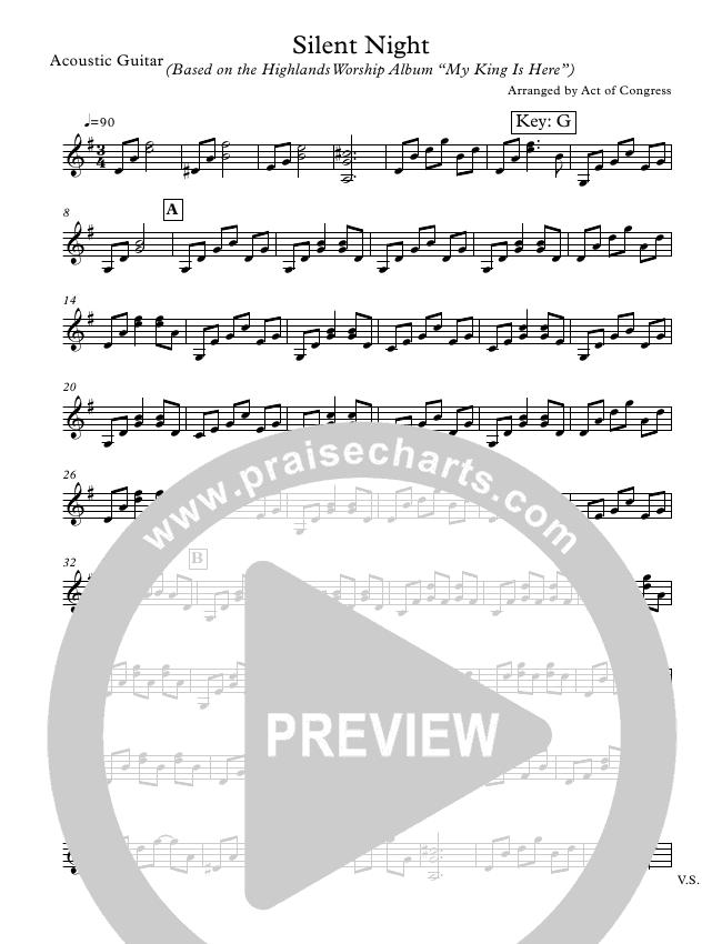 Silent Night Orchestration (Highlands Worship)