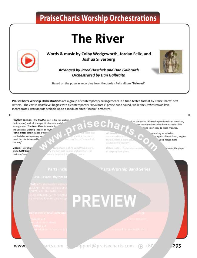 The River Lead & Piano/Vocal (Jordan Feliz)