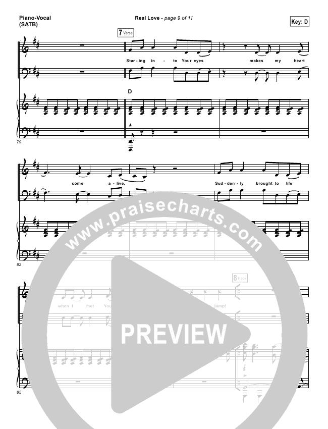 real love hillsong sheet music pdf
