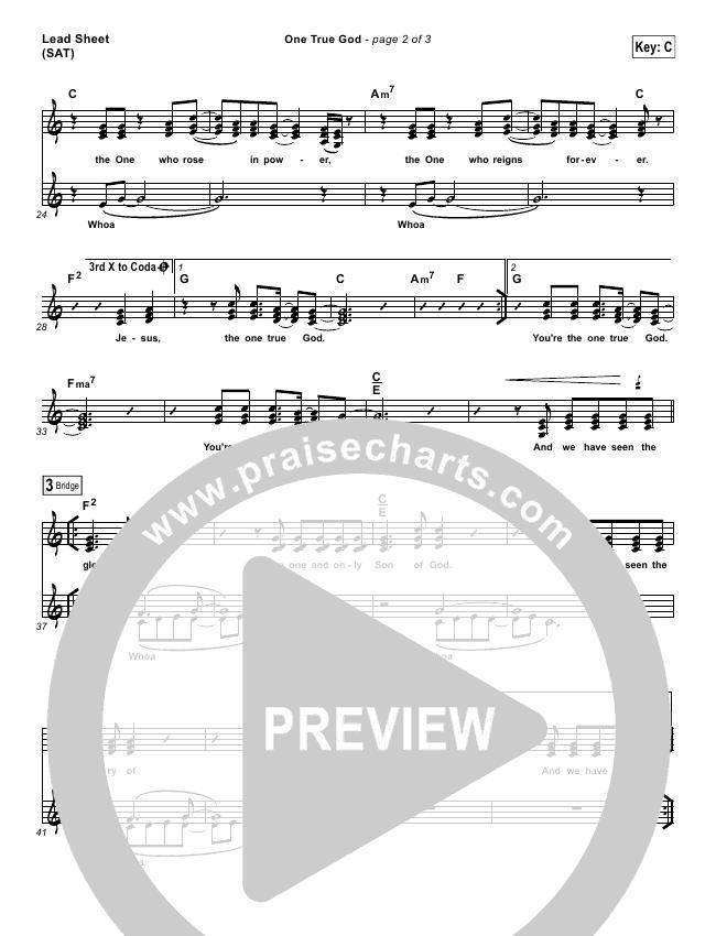 One True God Orchestration & Finale (Steven Curtis Chapman / Chris Tomlin)