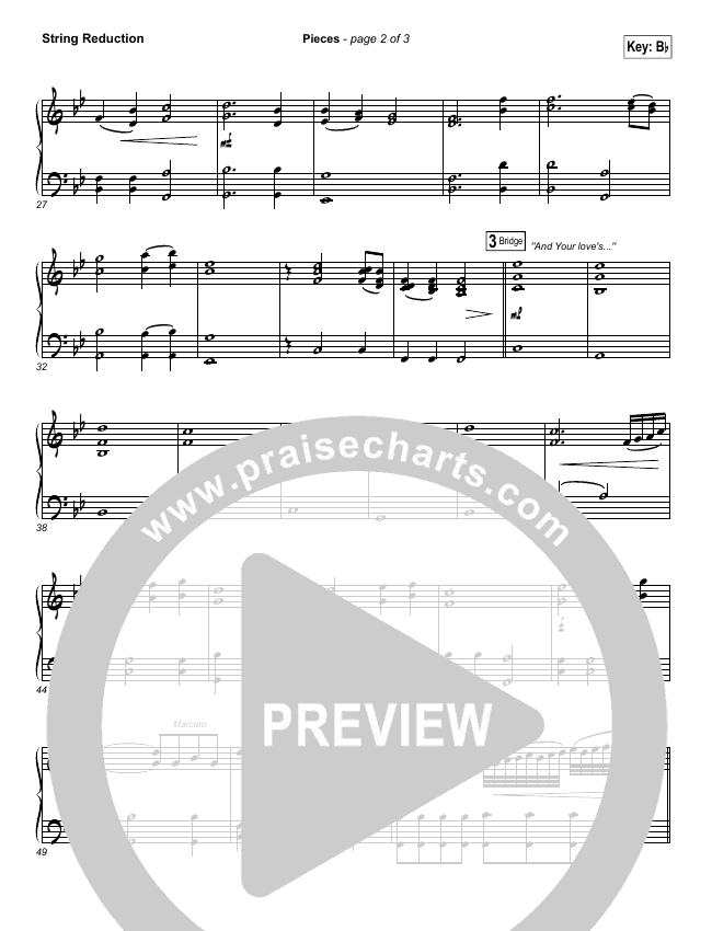Pieces String Pack (Bethel Music / Steffany Gretzinger)