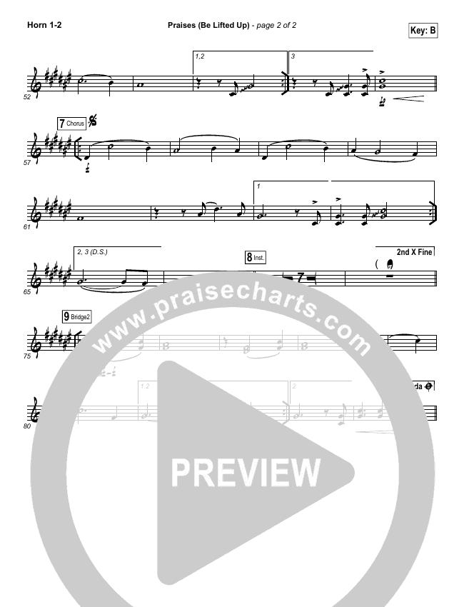 Praises (Be Lifted Up) Brass Pack (Bethel Music / Josh Baldwin)