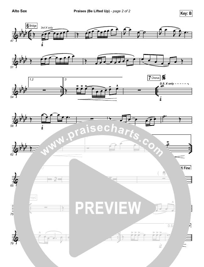 Praises (Be Lifted Up) Wind Pack (Bethel Music / Josh Baldwin)
