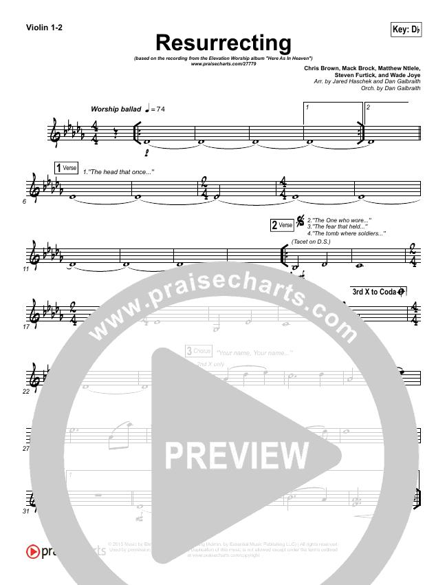 Elevation Worship Resurrecting Chords Pdf Passionx