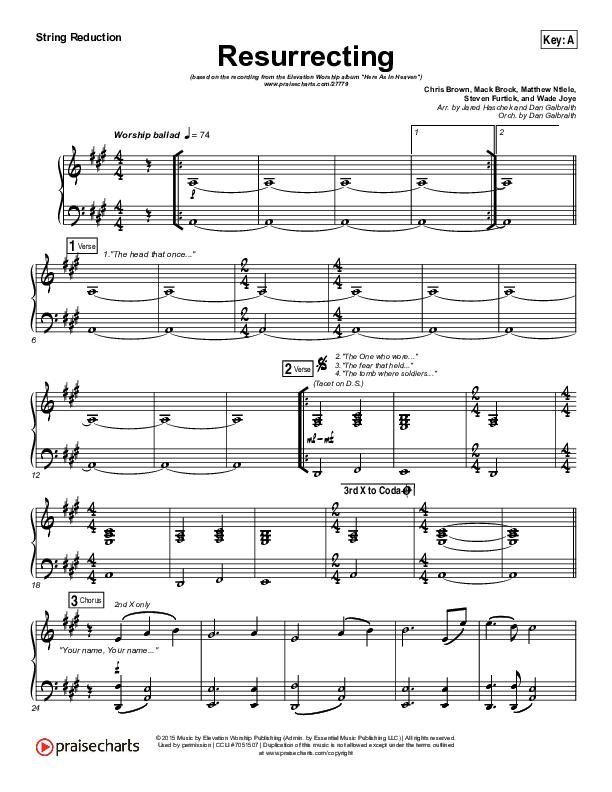 Resurrecting (Live) String Pack (Elevation Worship)
