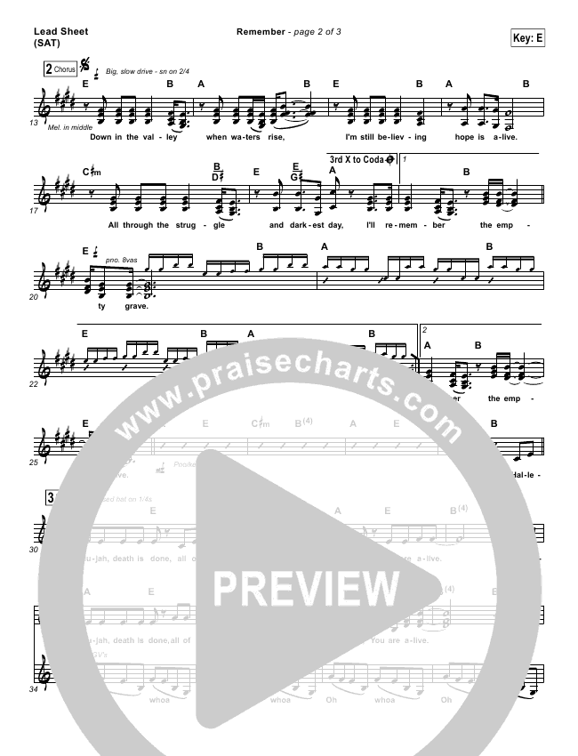 Remember Orchestration (with Vocals) (Brett Younker / Melodie Malone / Passion)