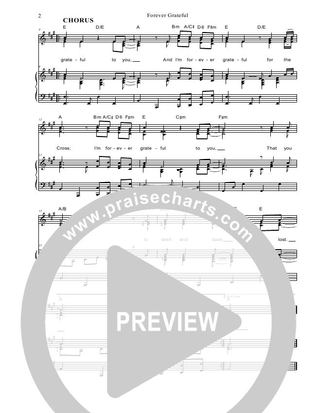 Forever Grateful Lead & Piano/Vocal (Dennis Prince / Nolene Prince)