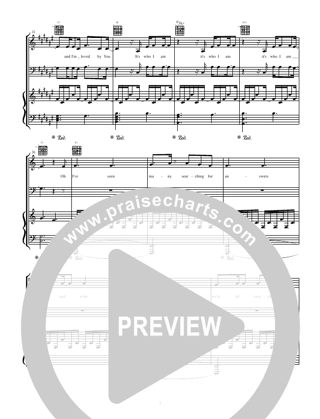 Good Good Father Piano/Vocal (Tommee Profitt & Brooke Griffith)