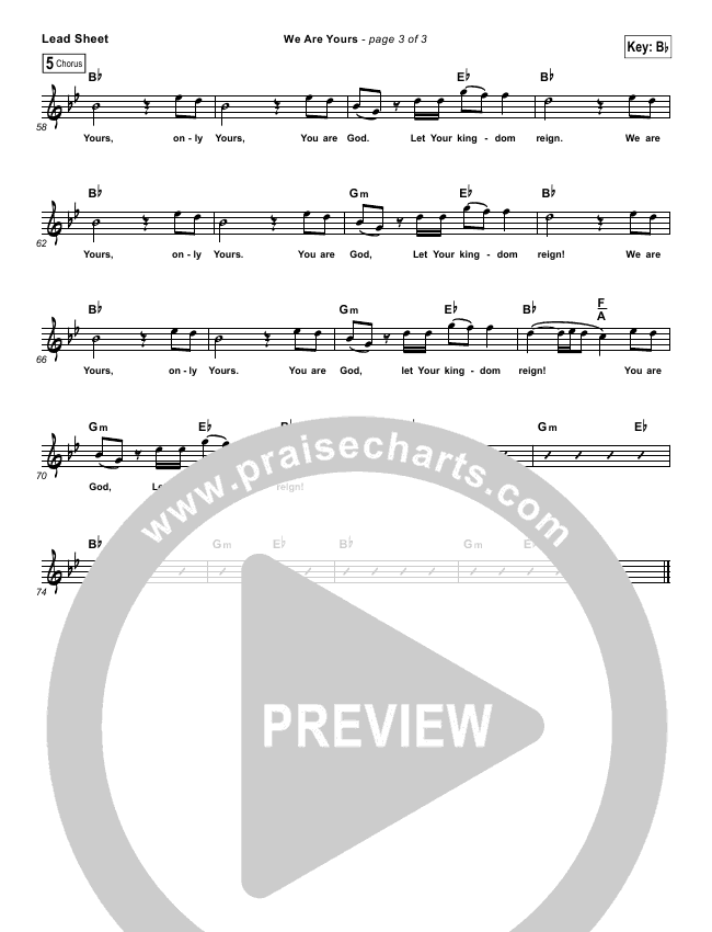 In Christ Alone (Simplified) Lead Sheet (Travis Cottrell)