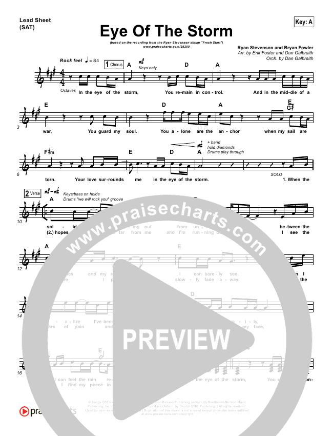 Eye Of The Storm Orchestration (Ryan Stevenson)