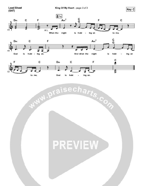 King Of My Heart Lead & Piano/Vocal (John Mark McMillan / Sarah McMillan)