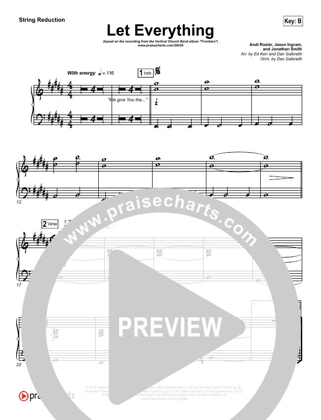 Let Everything String Pack (Vertical Worship)