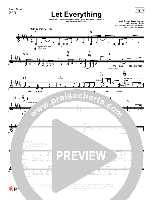 Let Everything Orchestration & Finale (Vertical Worship)