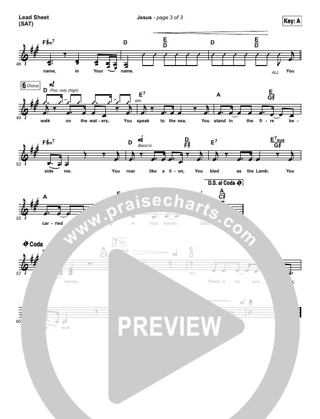 Jesus Lead & Piano/Vocal (Chris Tomlin)