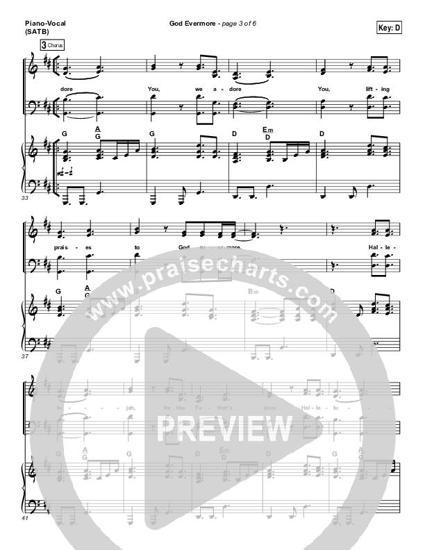 God Evermore Piano/Vocal (SATB) (Paul Baloche)