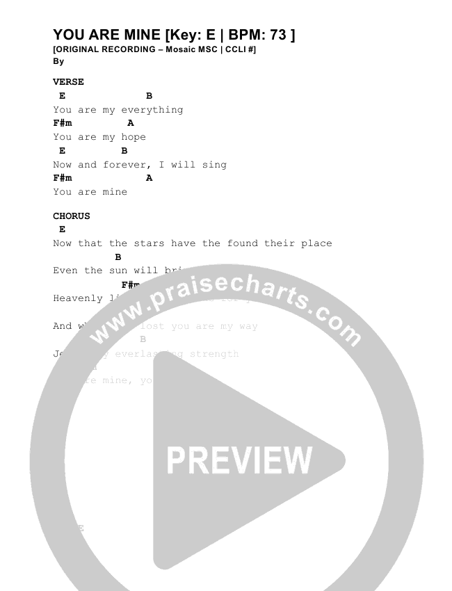 Nice You Are Mine Chords Gallery - Beginner Guitar Piano Chords ...