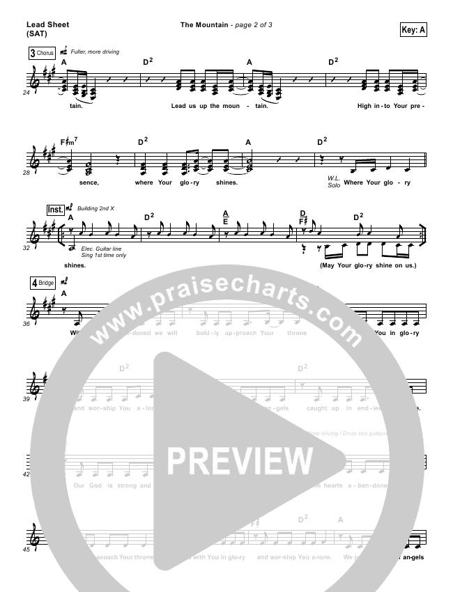 Amen Lead Sheet (SAT) (People & Songs / Charity Gayle / Joshua Sherman)
