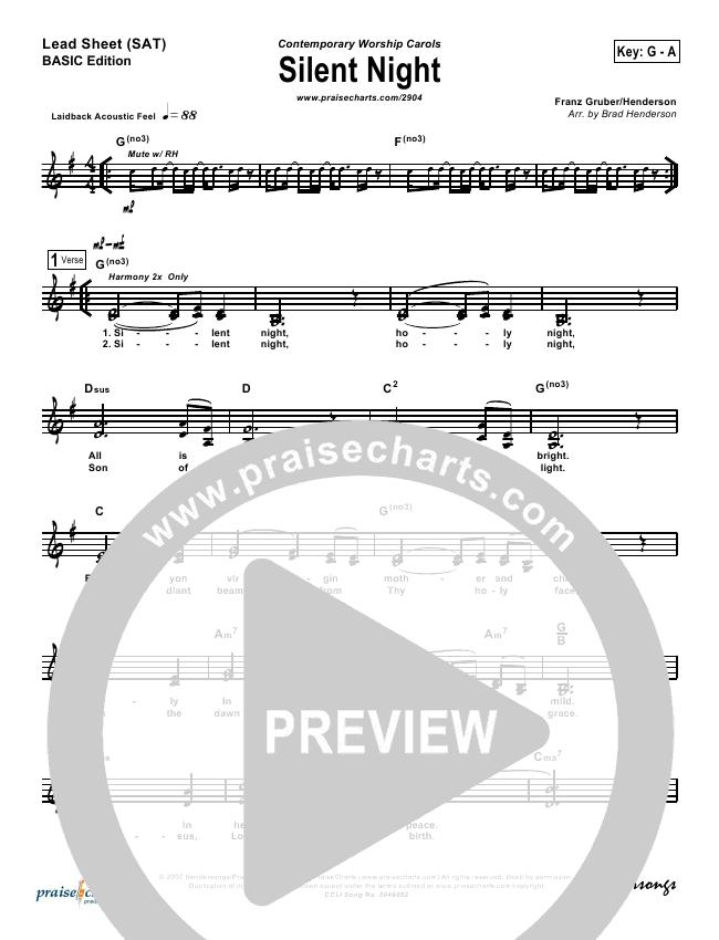 Silent Night Orchestration (Rosie Wyse / Joel Hill)