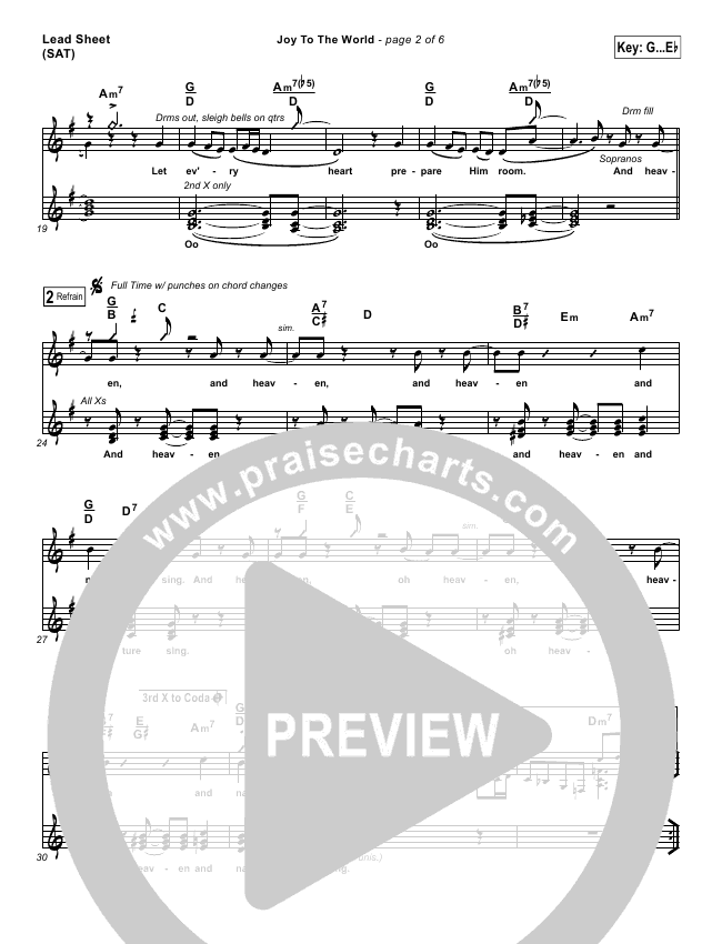 Micah Stley Sheri Jonesmoffet Joy To The World Lead Sheet Sat: Sheet Music Sheri Easter At Alzheimers-prions.com