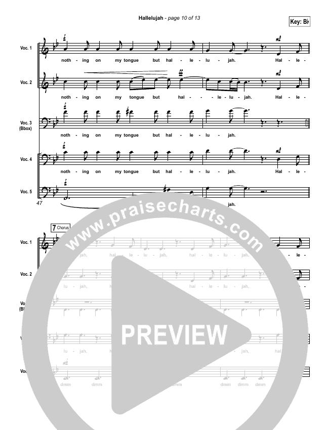 hallelujah pentatonix sheet music pdf