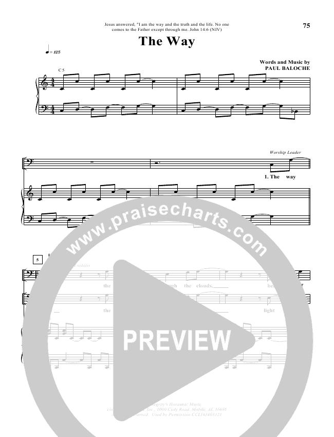 The Way Lead & Piano (Paul Baloche)