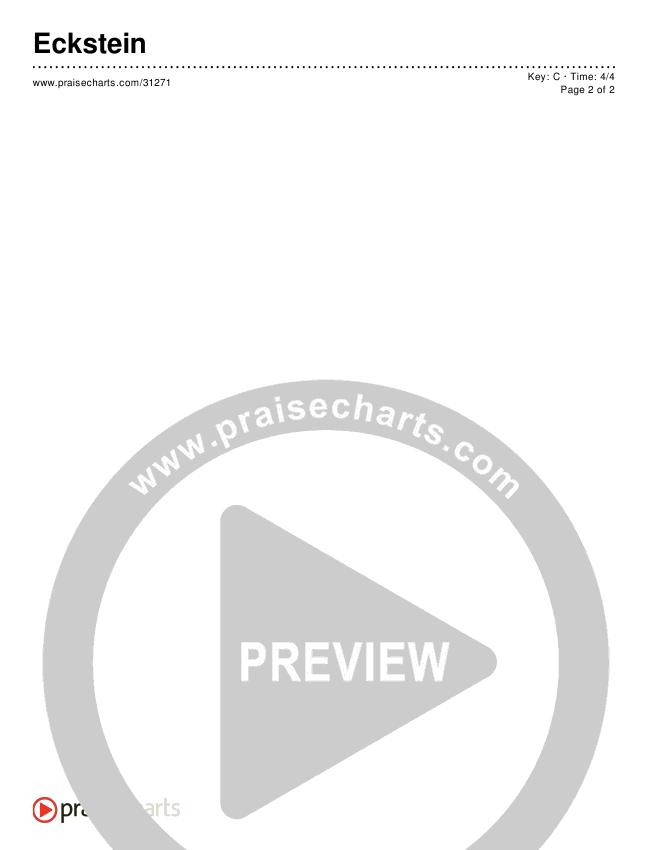 Eckstein (Simplified) Chords & Lyrics ()