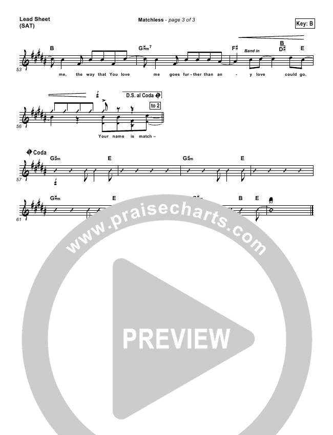 Matchless Orchestration (Aaron Shust)