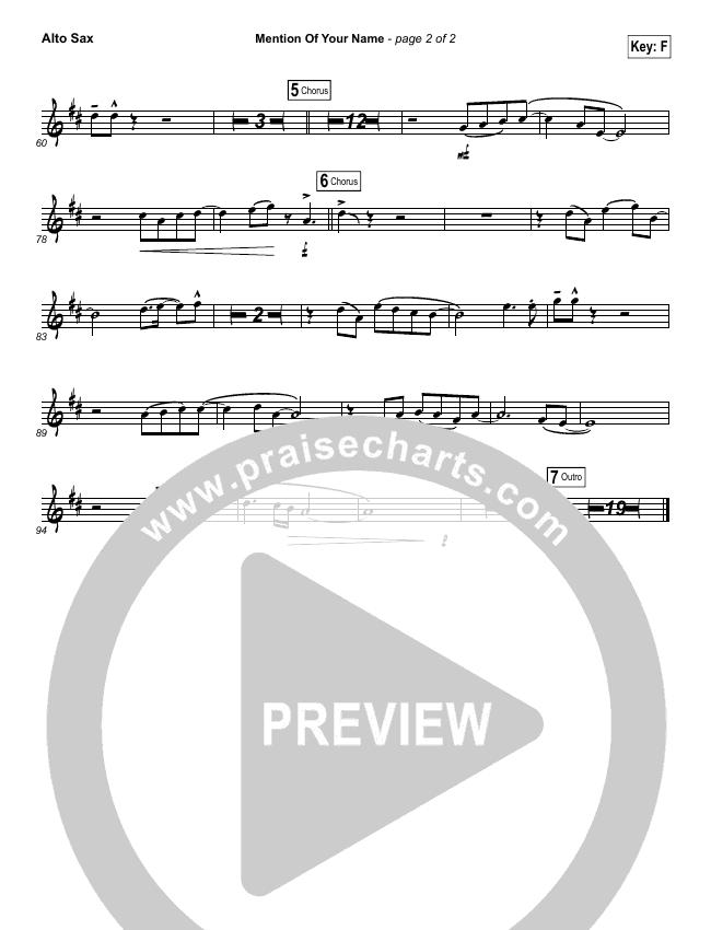 Mention Of Your Name  Wind Pack (Brian Johnson / Jenn Johnson)