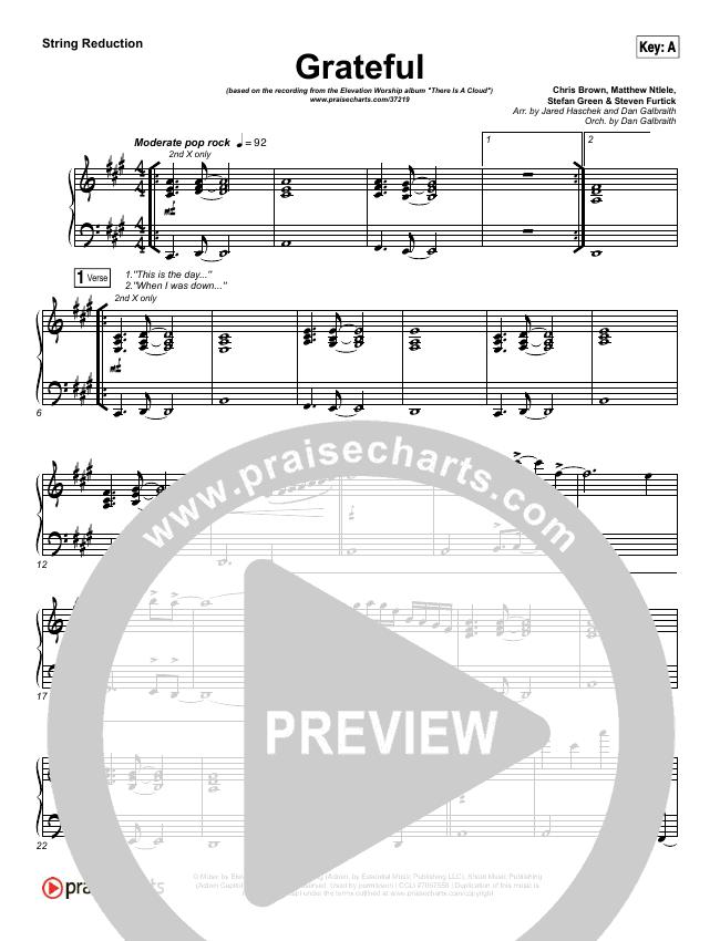 Grateful String Pack (Elevation Worship)