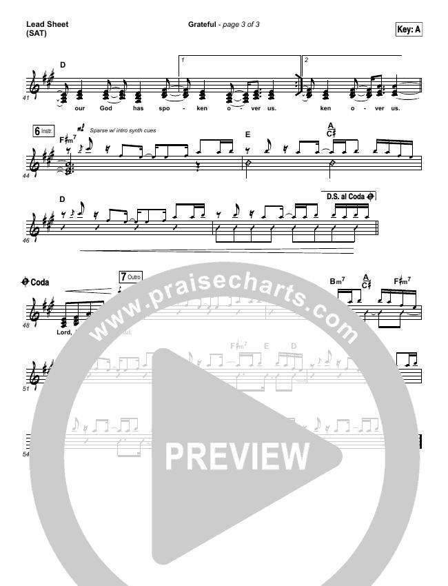 Grateful Orchestration & Finale (Elevation Worship)