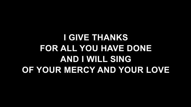 Grateful Lyric Slides (Elevation Worship)