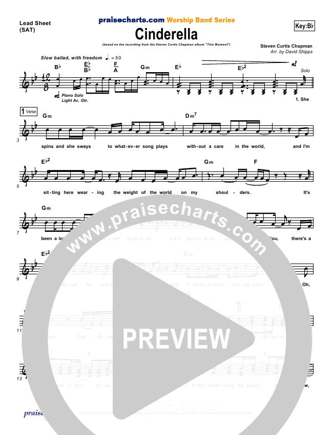 Cinderella Orchestration (Steven Curtis Chapman)