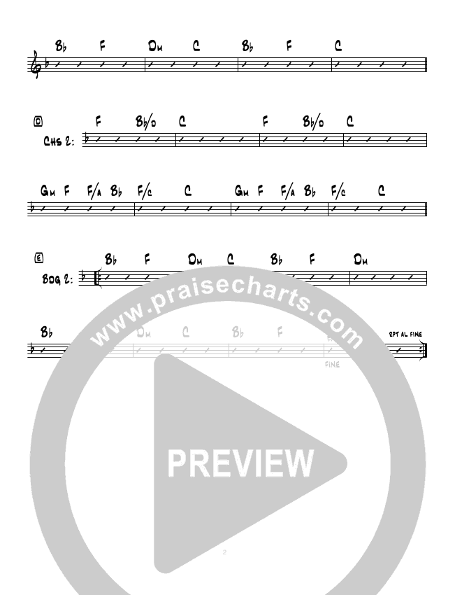 High And Lifted Up (Instrumental) Rhythm Chart (Hillsong Worship)