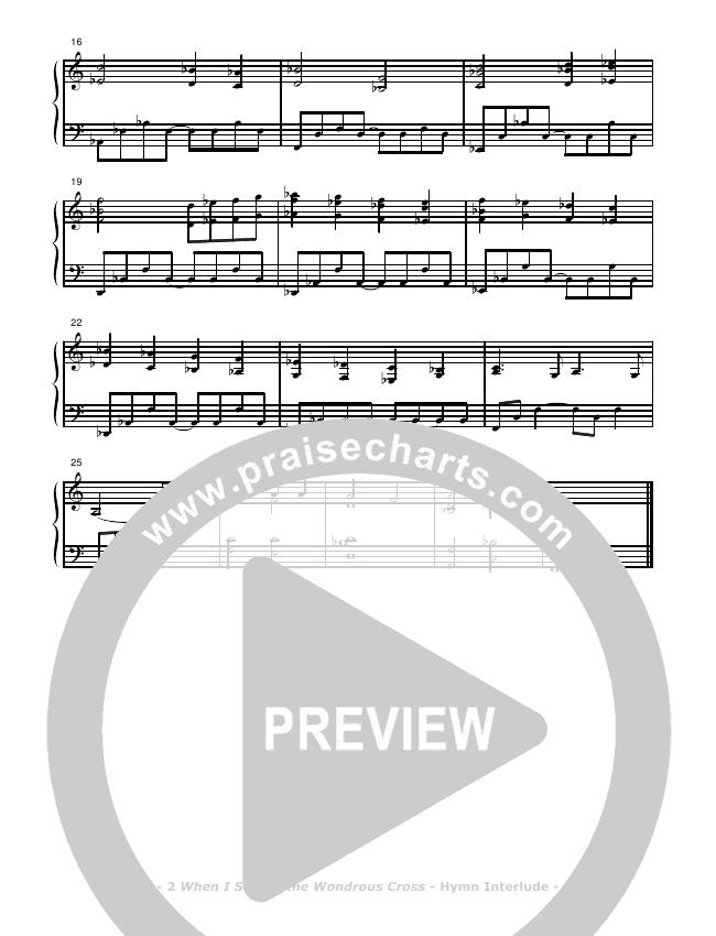 When I Survey The Wondrous Cross Piano Solo (Don Chapman)