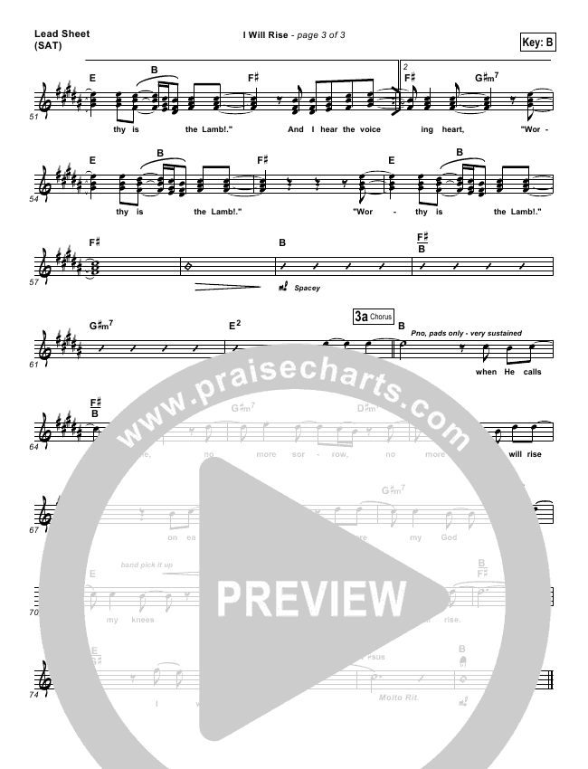 I Will Rise Orchestration (with Vocals) (Chris Tomlin)