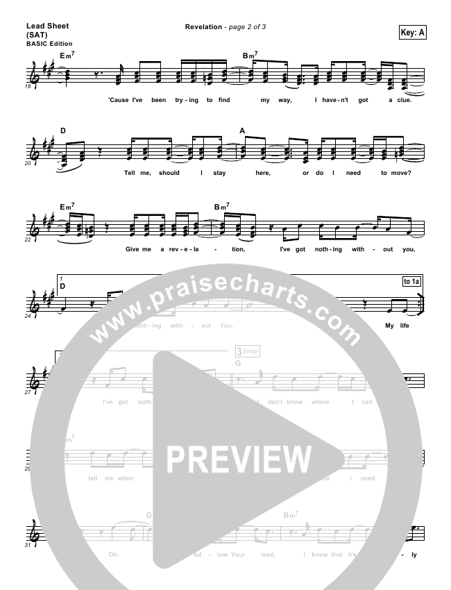 Revelation Orchestration (Third Day)