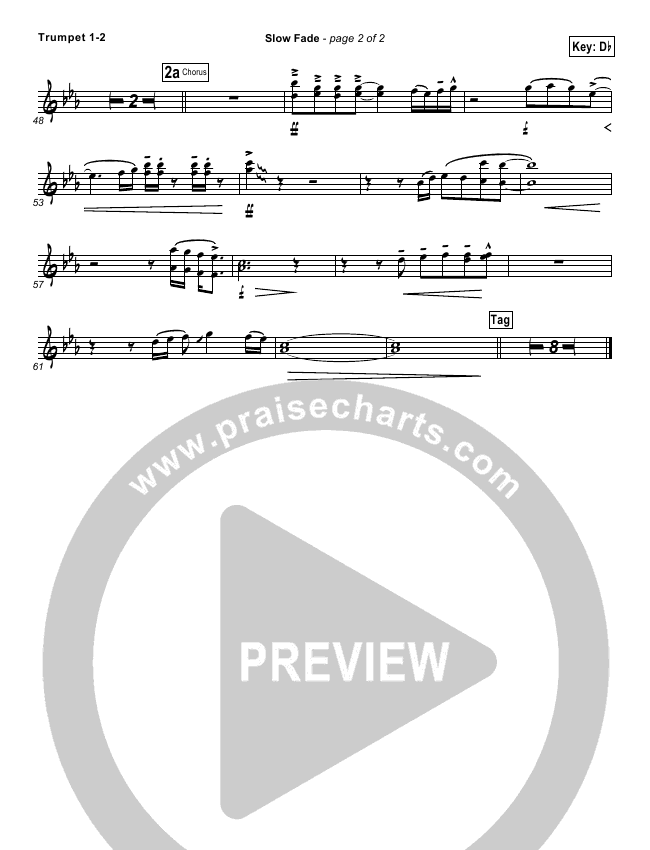Slow Fade Orchestration - Casting Crowns | PraiseCharts