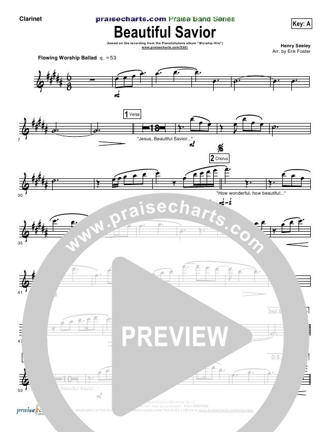 Beautiful Savior Orchestration Planetshakers Praisecharts