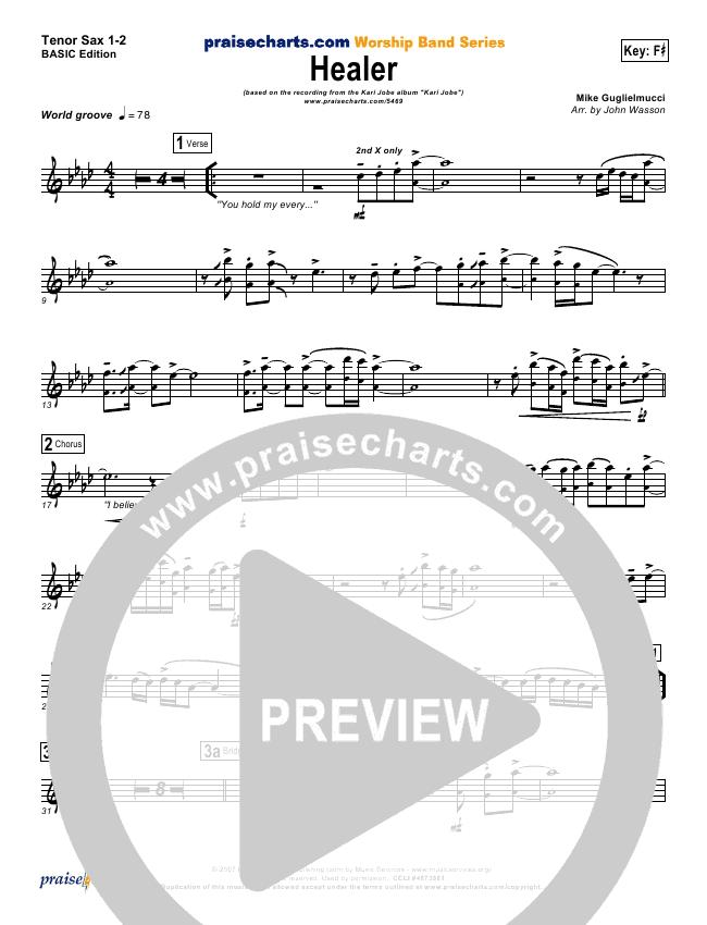 Healer Orchestration - Kari Jobe | PraiseCharts