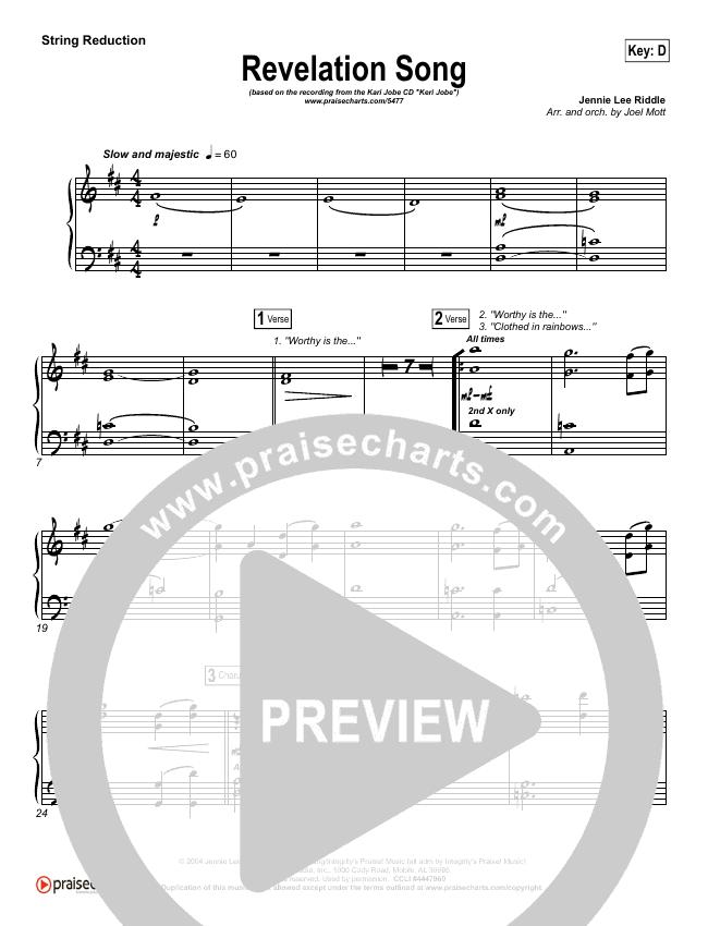 Revelation Song String Pack (Kari Jobe)