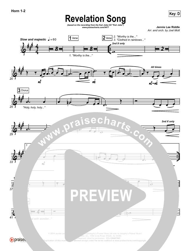 Revelation Song Brass Pack (Kari Jobe)