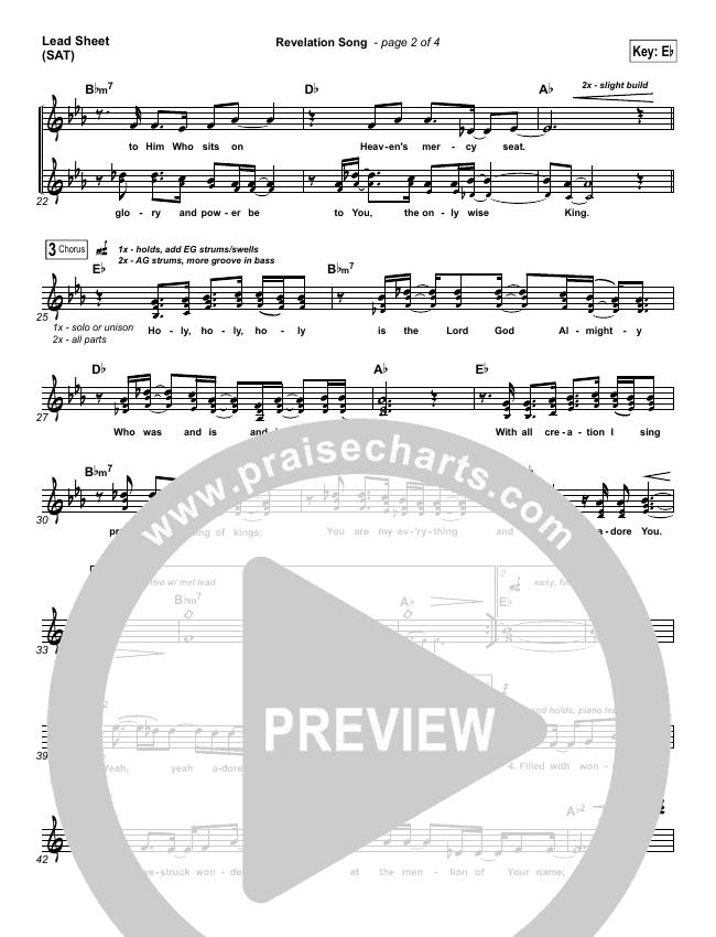 Revelation Song Orchestration & Finale (Kari Jobe)