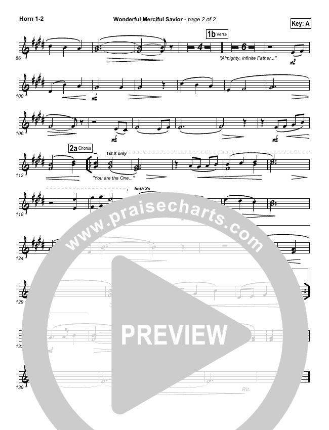 Wonderful Merciful Savior Brass Pack (Selah)