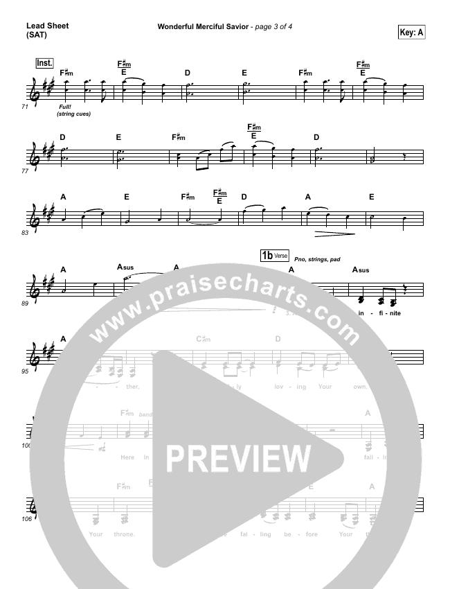 Wonderful Merciful Savior Orchestration & Finale (Selah)