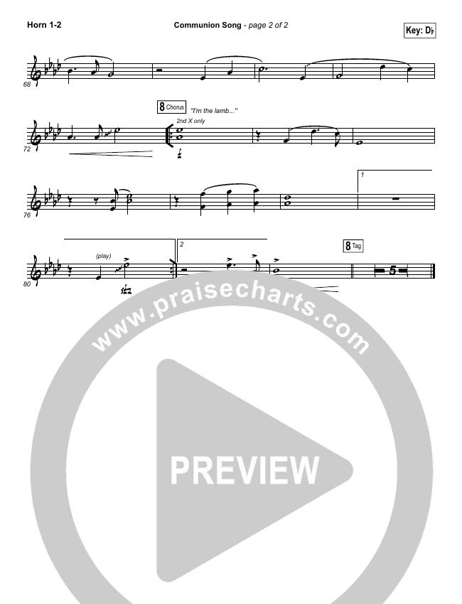 Communion Song Brass Pack (Jonathan Stockstill / Bethany Music / Nicole Binion / BJ Putnam)
