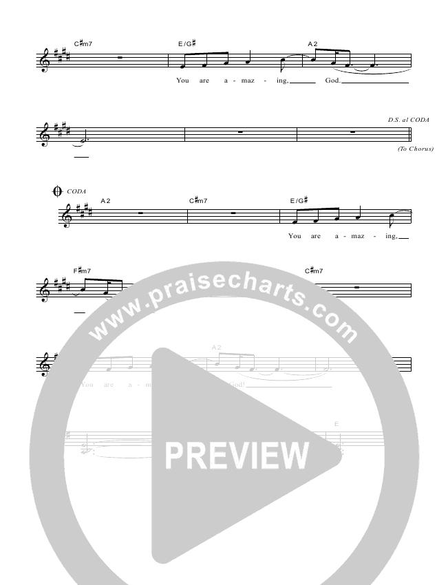 Indescribable Lead & Piano/Vocal (Dennis Prince / Nolene Prince)