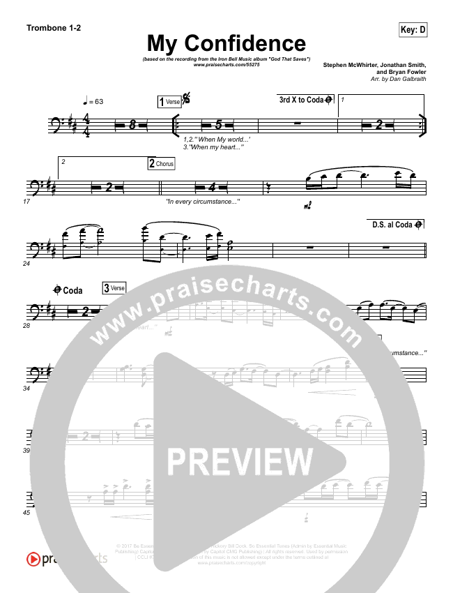 My Confidence Brass Pack (Iron Bell Music)