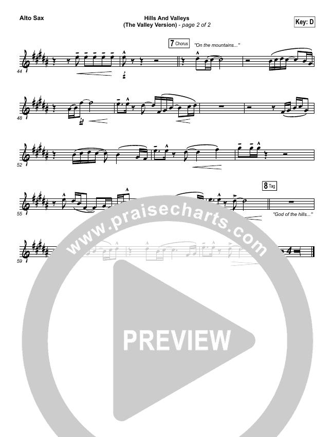 Hills And Valleys (The Valleys Version) Wind Pack (Tauren Wells)