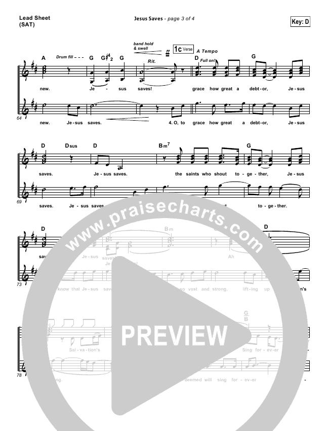 Jesus Saves Orchestration & Finale (Travis Cottrell)